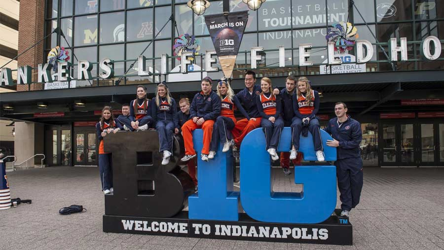 Big Ten Men's Basketball Tournament 1