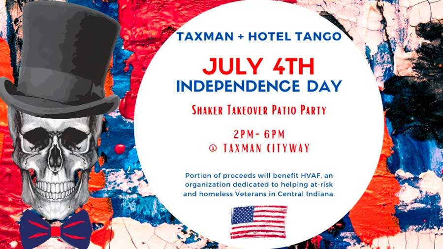 Independence Day Shaker Takeover Patio Party