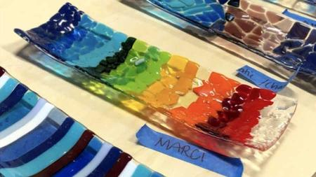 Indy Fused Glass