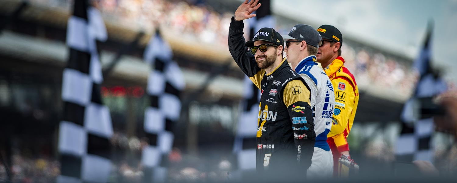 James Hinchcliffe Featured