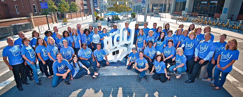 Visit Indy Staff 2015