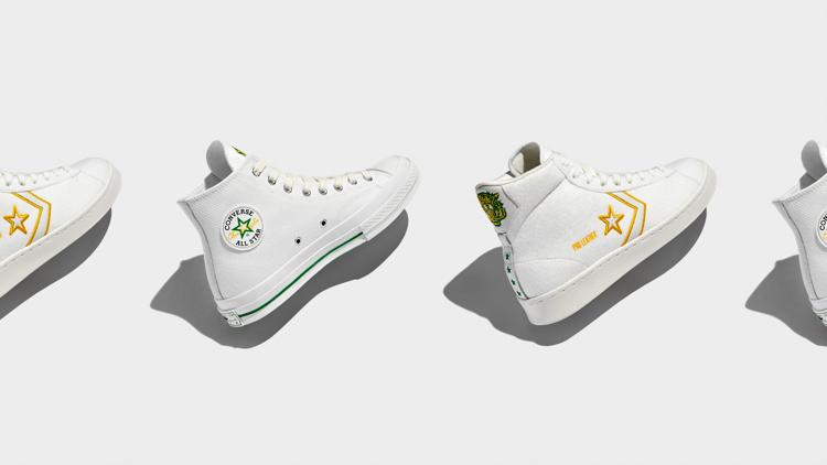Crispus Attucks High School Celebrated With New Converse Shoes
